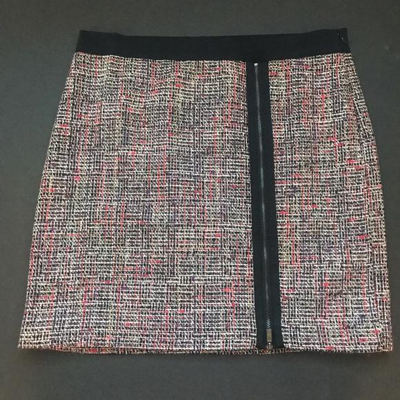 Liz Claiborne Dresses & Skirts - Liz Claiborne pink tweed pencil skirt.